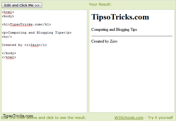 Tip Fastest Way To Test Html Javascripts Codes Online