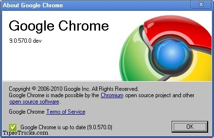 google chrome 9 screenshot