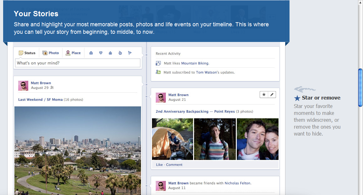 How To Enable New Timeline Feature In Your Facebook Profile - Timeline blogger template