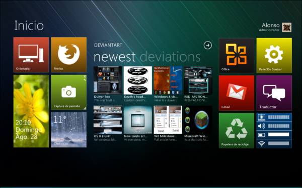 windows 8 desktop preview