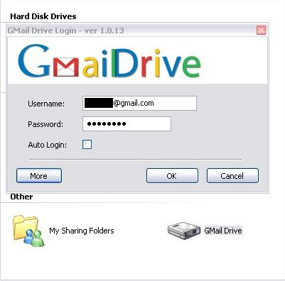 how to save gmail to hard drive