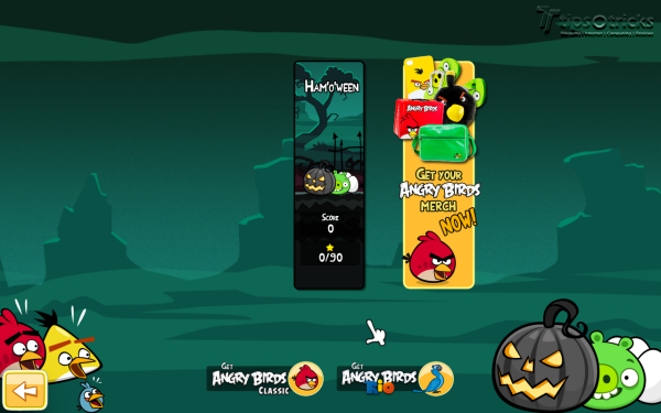 Angry Birds Seasons for PC - 2012 Seasons Selections