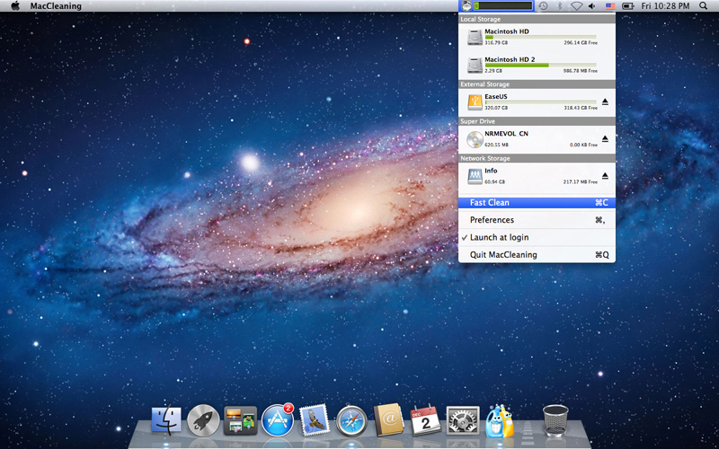 MacCleaning FREE for Mac