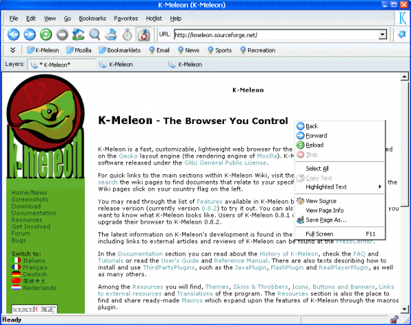 K-Meleon-Web-Browser