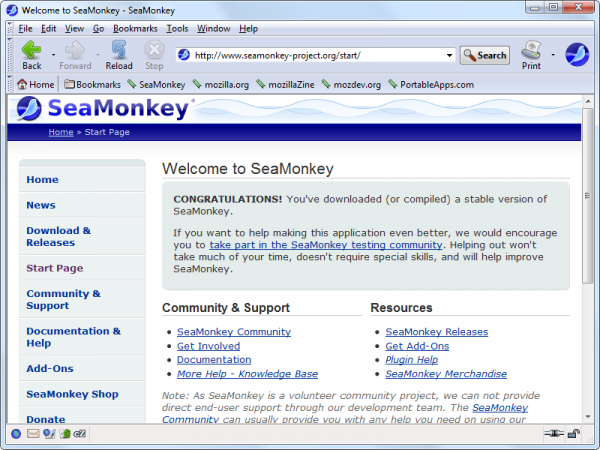 Sea-Monkey-Browser