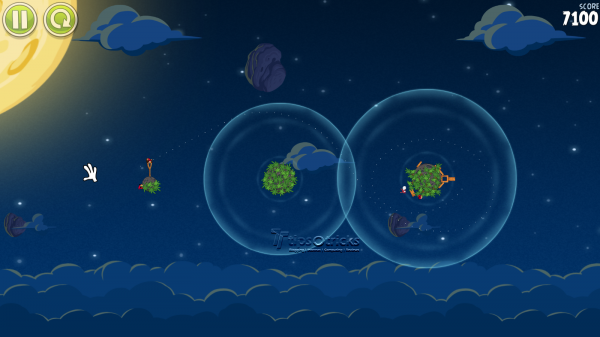 Angry Birds Space for PC Gamplay Screenshot