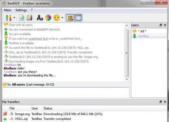 best free LAN Wifi chat softwares
