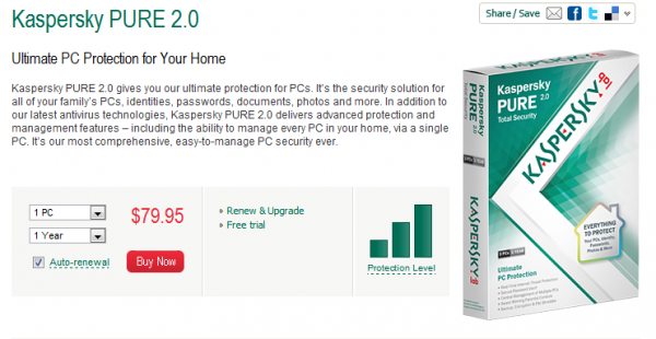 Kaspersky Pure 2