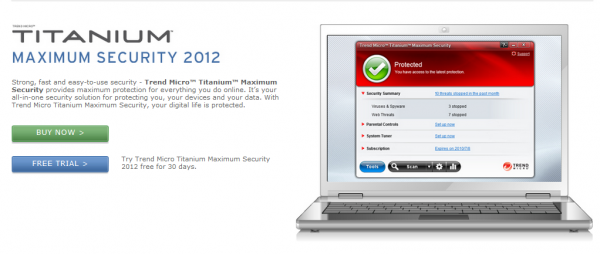 Trend Micro Titanium Maximum Security