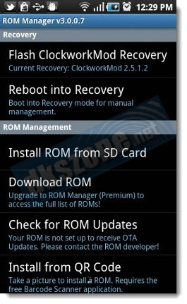 step by step guide to install Custom Android ROM