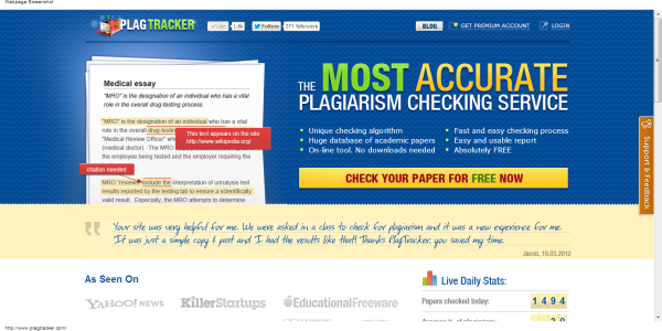 how to check an essay for plagiarism