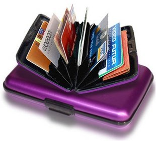 Free-shipping-1-pcs-Aluminum-Wallet-Credit-Card-Case-Assorted-Colors-business-card-case-aluminum-wallet