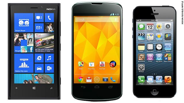 iOS vs Android vs Windows Phone