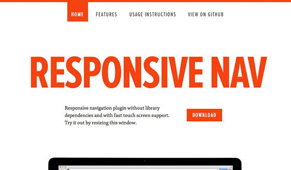 Responsive Nav