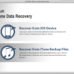 Recover lost iPhone data