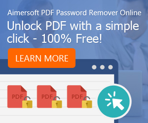 Aimersoft Password Remover