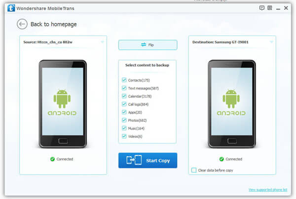 android phone transfer