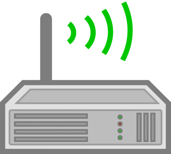 Pocket WiFi Router Clip Art