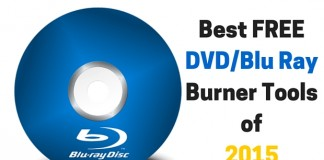Blu Ray Burner tools 2015