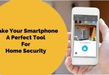 smartphone apps for home security