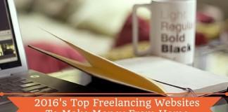 Top Freelancing Websites 2016