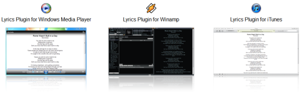 Lyrics Plugin for Media Players