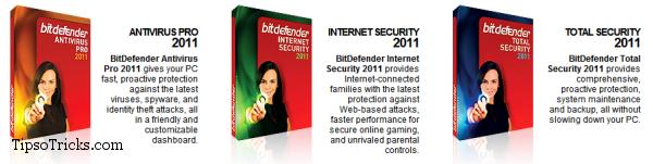 BitDefender 2011 Product Lineup
