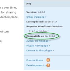 Check WordPress Plugin's Compatibility
