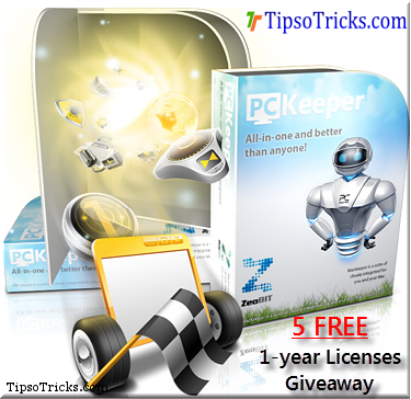 PCKeeper 5 Licenses Giveaway