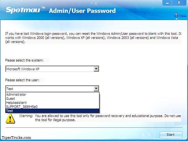 Windows Password Finder