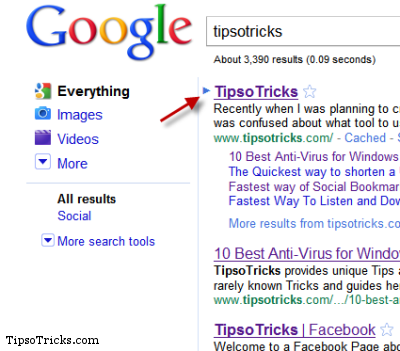 google instant search keyboard shortcuts