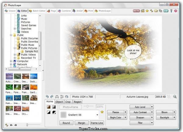 photoscape  screenshot