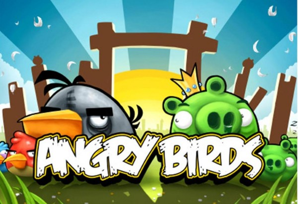 Angry Birds Intro Splash Screen