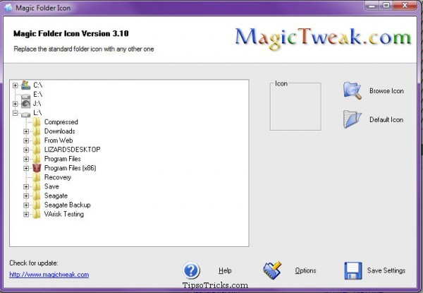 Magic Folder Icon Screenshot