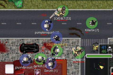 ProjectINF3 gameplay screenshot