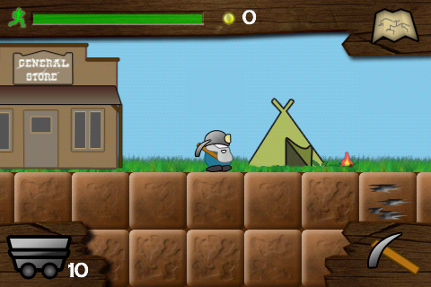 gem miner gameplay screenshot