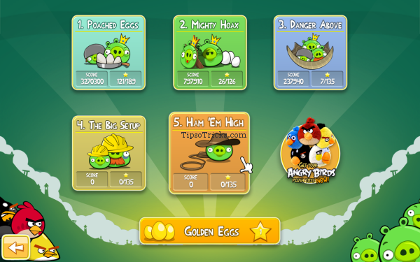 Angry Birds 1.5.1 for PC