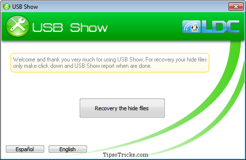 how to show hidden folders in usb
