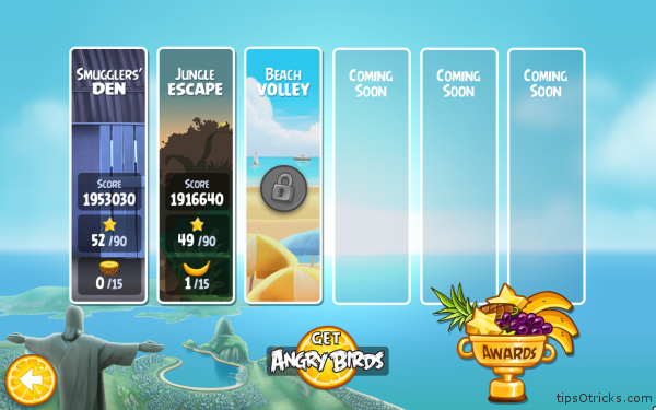 Angry Birds Rio for PC - Levels