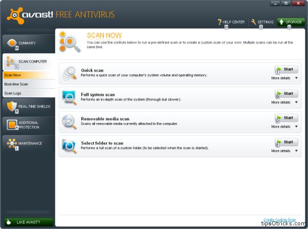 avast FREE antivirus 2011