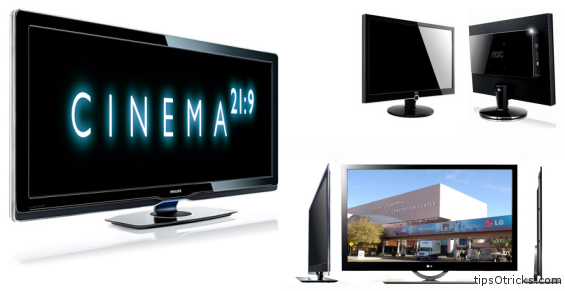 LCD Monitor and TV buying tips