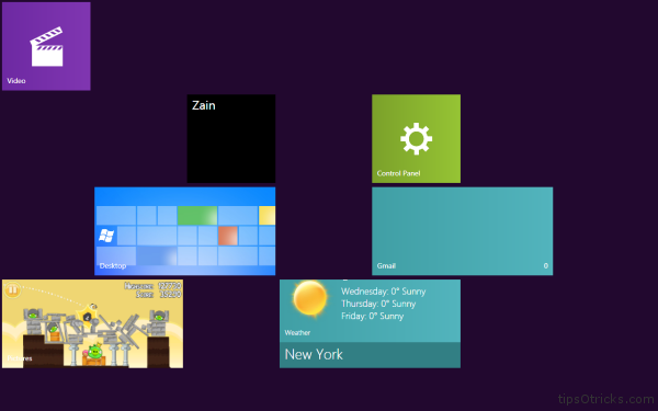 Mosaic Windows 8 Live Tiles for Windows 7