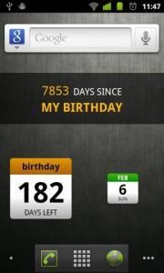 Days Until