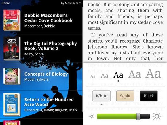 Amazon Kindle Ebook App