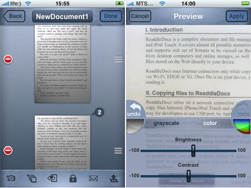 Jot Not Scanner Pro for iPhone