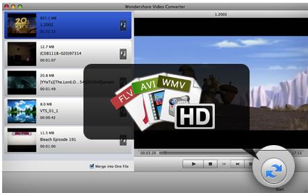 Wondershare Mac Video Converter