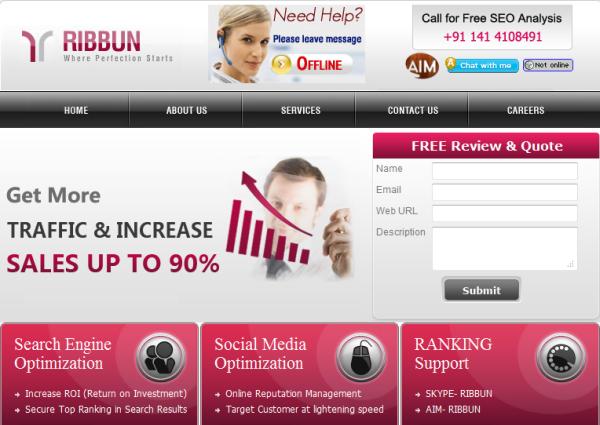 Ribbun SEO Services
