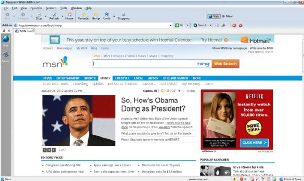 DeepNet-Browser