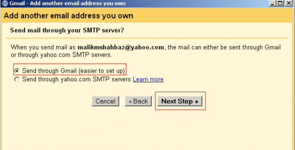 How To Merge Multiple Yahoo or Live Mail Accounts Into One