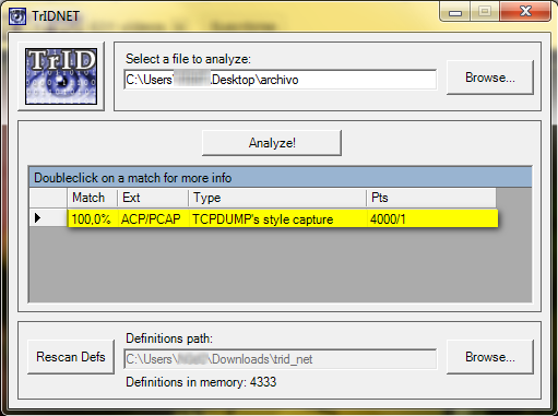 TrlD File Identifier